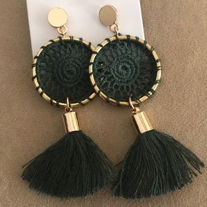 Jewelry - 💘Tassel Dreamcatcher Earrings